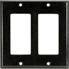 Leviton 2-Gang Decora Wall Plate-Brown