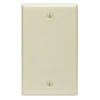 Leviton 1-Gang Blank Wall Plate-Ivory