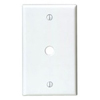 Leviton 1-Gang .406 Inch Hole Telephone-Cable Wall Plate