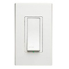 Vizia Digital Companion Switch-White Ivory and Almond Faceplates Included
