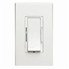 600W Vizia Magnetic Low-Voltage Dimmer 3Way White Ivory Almond Faceplates