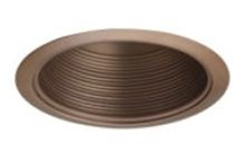 "Liton Lighting 4"" Line Voltage Metal Baffle Trim-Mocha"