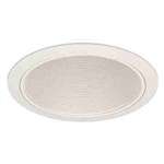 "Liton Lighting 6"" Line Voltage Phenolic PAR30 Baffle Trim-White"