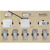 Lutron AuroRa Wireless Lighting Control Kit-Almond
