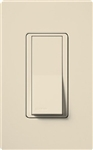 Lutron Claro Decorator Rocker Switch Single-Pole-Light Almond