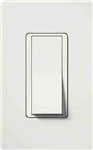 Lutron Claro Decorator Rocker Switch 3-Way-White