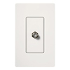 Lutron Claro Decorator Cable Jack Insert-White