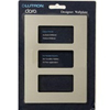 Lutron 3-Gang Claro Decorator Screwless Wall Plate-Stainless Steel