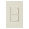 Lutron Maestro Companion Fan and Light Control-Light Almond