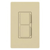 Lutron Maestro Combination 300W Dimmer and 2.5A Countdown Timer-Ivory