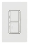 Lutron Maestro Combination 300W Dimmer and 2.5A Countdown Timer -White