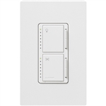 300W Dimmer and 1.0A Fan Controller with Companion Controller-White