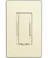 Lutron 600W Maestro Electronic Low Voltage Dimmer Multi-Location-Almond