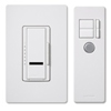 Lutron 600W Maestro IR Dimmer with Remote Control Single-Pole-Almond