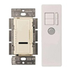 Lutron 600W Maestro IR Dimmer with Remote Control Single-Pole-Ivory
