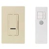 600W Maestro IR Dimmer with Remote Control and Wall Plate Single-Pole-Ivory
