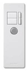Lutron Infrared Remote Control for Maestro IR Fan Controllers-White