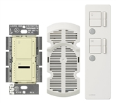 IR Combination 300W Dimmer and 1.0A Fan Controller Package-Almond