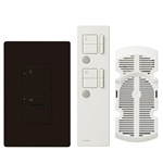Lutron Maestro IR Combination 300W Dimmer and 1.0A Fan Controller-Brown
