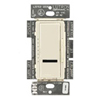 Lutron 600W Maestro IR Electronic Low-Voltage Dimmer Single-Pole-Almond