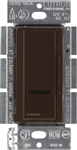Lutron 600W Maestro IR Electronic Low-Voltage Dimmer Single-Pole-Brown