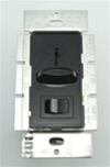 Lutron 600W Skylark Slide Dimmer Single Pole-Black