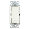 Lutron Satin Colors Rocker Switch Single-Pole-Satin Biscuit