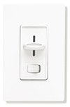 Lutron 450W Skylark Magnetic Low Voltage Slide Dimmer Single Pole-White