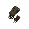 Lutron 300W Credenza Plug-In Lamp Dimmer-Brown