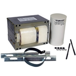 Howard M1000-71C-214-CK 1000 Watt - Metal Halide Ballast - 4 Tap - ANSI M47 - Power Factor 90% - Max. Temp. Rating 194 Deg. F - Includes Oil Filled Capacitor and Bracket Kit