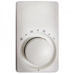 Cadet M611W Thermostat, Single Pole Heat Only Anticipated - White