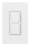 Ma-l3l3hw-wh Stacked Dual Dimmer Switches W/Wallplate