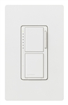 Ma-l3s25hw Stacked Dual Dimmer/Switch W/Wallplate