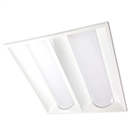 MaxLite - 3640 Lumens - ArcMAX Lay In LED 2X2 Panel - 42W - 4100K Cool White - MLVT22D4241
