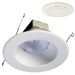 Nicor Maxcor DLR-56 - LED Downlight Module - 14 Watt - 900 Lumens - 3000K Warm White - Fits 5 in. and 6 in. Recessed Housings - Medium and GU24 Base