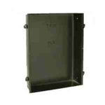 Cadet NLWC Recess Mount Wall Can for the NLW Series (NLW202TW, NLW302TW, NLW402TW, NLW452TW) - Black