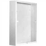 Cadet NLWC-S Heater Wall Can for NLW Series Heaters, Surface Mount - White