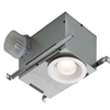 "Nutone 70 CFM Recessed Bathroom Fan with Light for 4"" Duct"