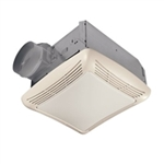 "Nutone 50 CFM Bathroom Fan with Light for 4"" Duct"