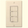 Nutone Four-Function Control Switch-Ivory