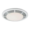 "Nutone 100 CFM Bathroom Fan-Light-Night Light for 4"" Duct"