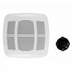 Orbit OD110F Bathroom Fan Motor 110 CFM Deluxe Series w/Grille - White