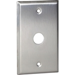 "Orbit OS737 Electric Wall Plate, 0.6"" Round Door Bell 1-Gang - Stainless Steel"