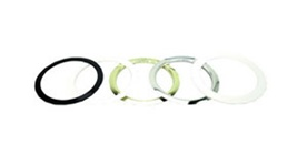 Liton Lightiing PMR6C - 6'' Replacement Metal Ring Clear Ring
