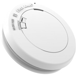 BRK PR700B Smoke Alarm, Carbon Zinc Battery Operated Low Profile - Photoelectric