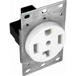 Orbit R30-4-W Dryer Receptacle, 125/250V 30A 3-Pole 4-Wire - White