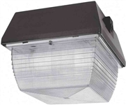 Van3Hh50Qt-Pc Vandalproof 9 X 9 Ceiling 50W Mh Qt Plus Lamp Plus 120V Pc Bronze