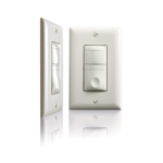 RH-200-I Passive Infrared (PIR) Multi-Way Wall Switch Vacancy Sensor Ivory