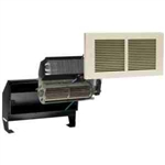 Cadet RMC162A Wall Heater, 1600W 240/208V Register Heater Assembly w/Wall Can & Grill - Almond