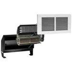 Cadet RMC208W Wall Heater, 2000W 208V Register Heater Assembly w/Wall Can & Grill - White